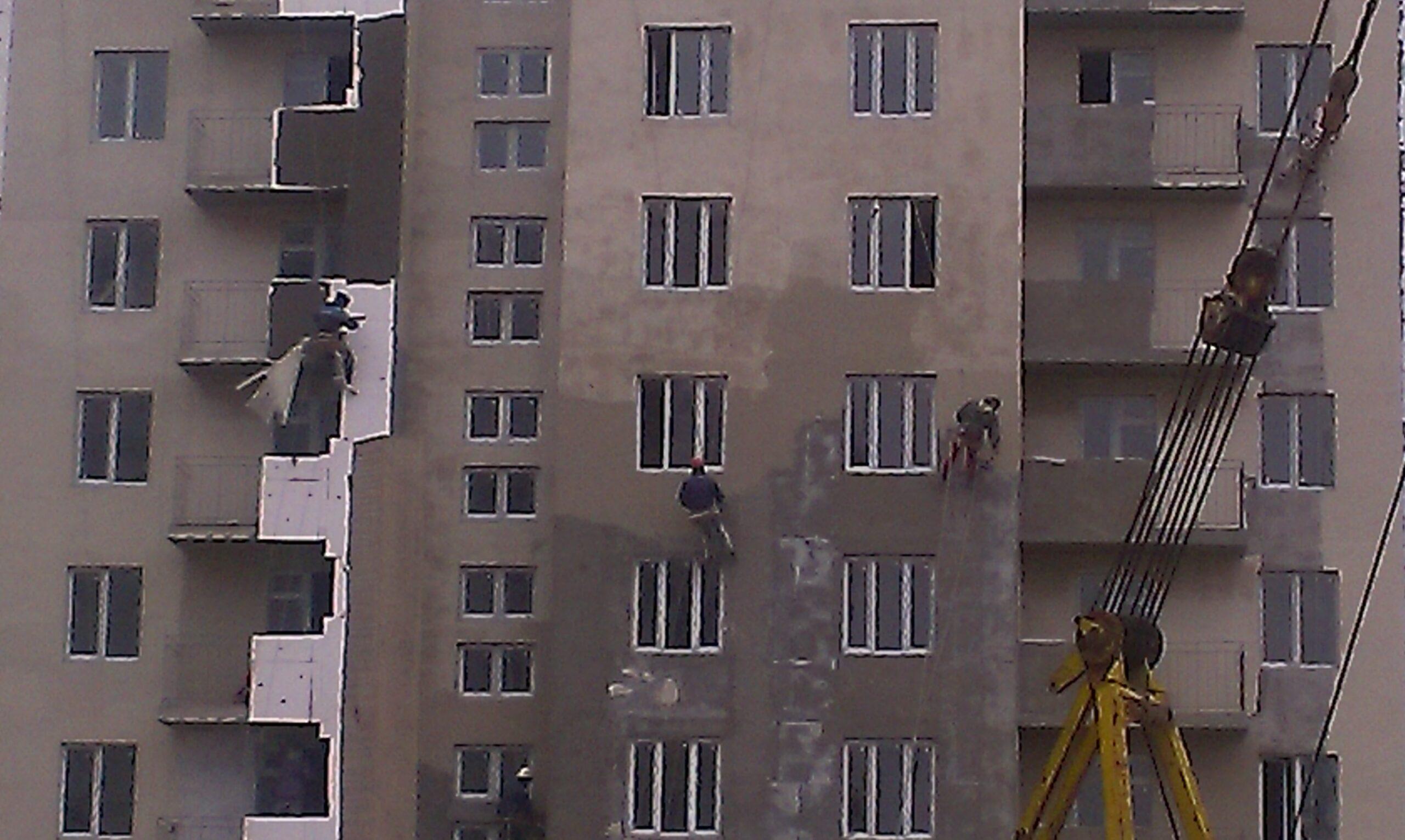 Наружное утепление новостроек в Севастополе