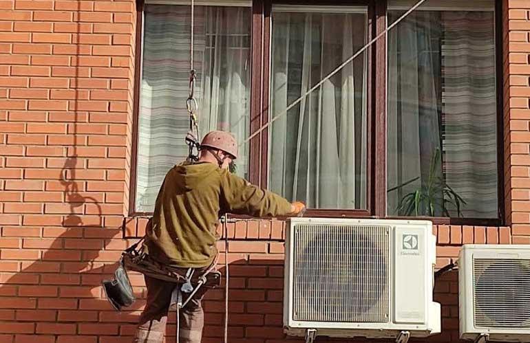 Наружная герметизация окон, отливов, балконов и лоджий